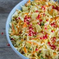 Light Coleslaw Salad
