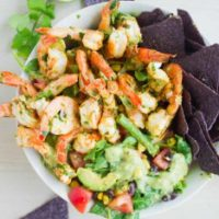 Shrimp Salad with Avocado Dressing