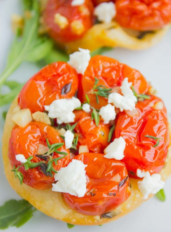 Tomato Tarts Tatin