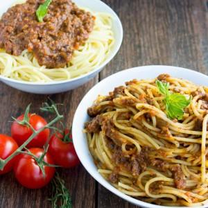 Speedy Lamb Ragu Pasta