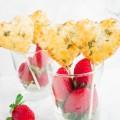 Strawberry Brie Lollipop Pies