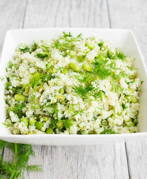 Dill Cauliflower Rice