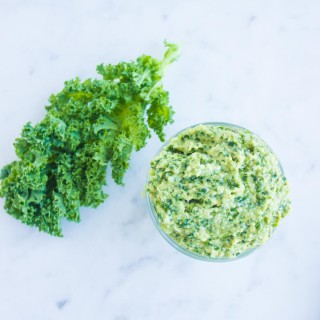 Kale Artichoke Walnut Pesto