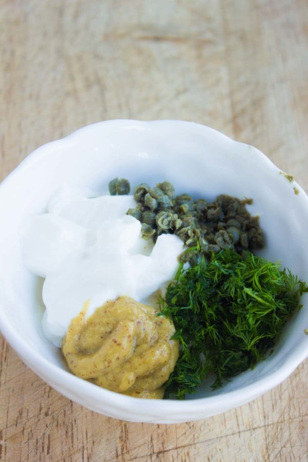 Light Dill Tartar Sauce