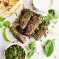 Ultimate Lamb Kabab Platter