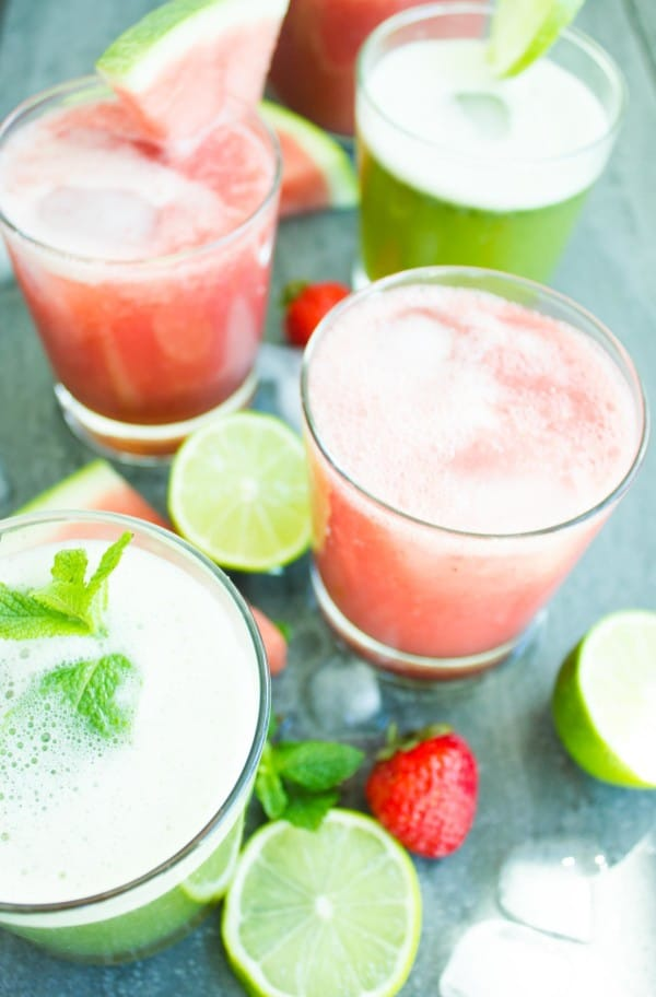 Two Fizzy Summer Drinks