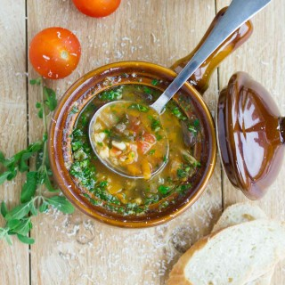 Tomato Garden Vegetable Soup