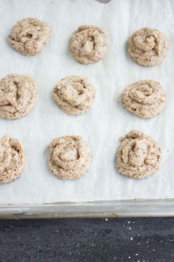 Espresso Amaretti Cookies