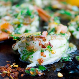 Grilled Shrimp Chimichurri