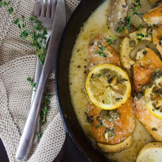 Lemon Caper Artichoke Chicken Piccata