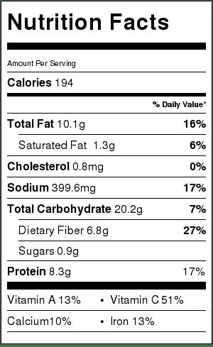 Garlic Kale Hummus Dip
