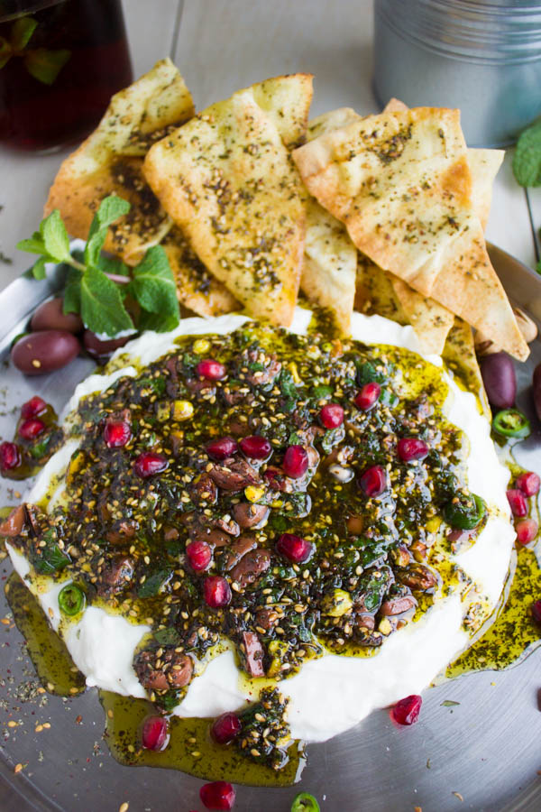 how to make zaatar chips with pita break