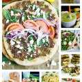 Mediterranean Super Bowl Recipes. Easy, Quick, ULTRA flavorful twist on Super Bowl! Have a fun twist this Super Bowl with a Mediterranean Flair!--Get the full collection and pick your favorites! www.twopurplefigs.com
