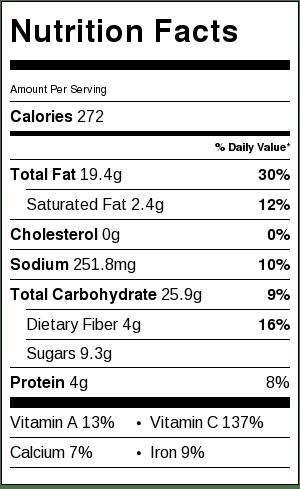 Mixed Grain Kale Citrus Salad