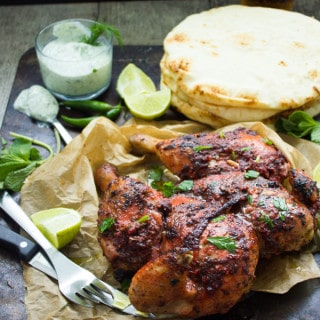Quick Roast Tandoori Chicken
