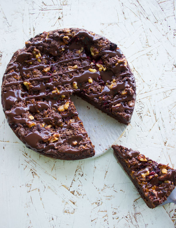Baked Double Chocolate Glazed Donuts Two Purple Figs