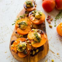 Quick Easy Appetizer With Fruit And Cheese. Can't get easier than this! 2 ingredients, and a Balsamic drizzle--use your favorite fruits and cheese combo--many ideas and tips in the recipe! Get this one today for apricots stuffed with bocconcini and balsamic. www.twopurplefigs.com