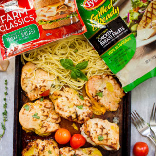 Ad: Cordon Bleu Grilled Chicken Dinner