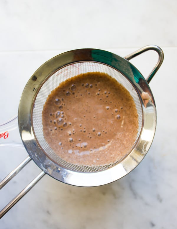 Milk Chocolate Pudding Recipe. An easy No bake no cook and YUM chocolate treat that's boosted with goodness of NESQUICK chocolate Powder and Chia seeds! Perfect snack or breakfast treat for the whole family. www.twopurplefigs.com
