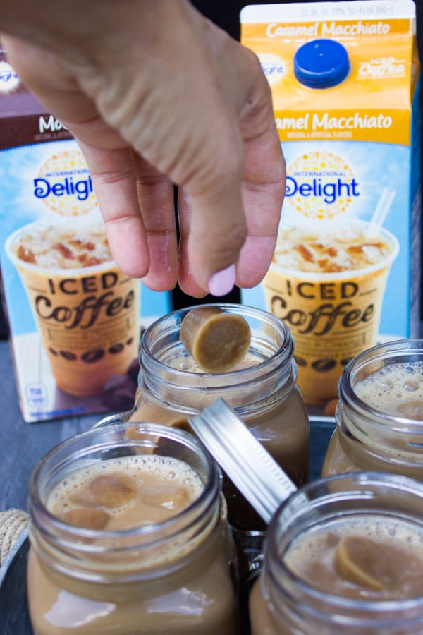 Mocha Coffee Pudding. The perfect chocolate coffee treat, make this easy divine dessert in 5 mins and sit back with a spoon for a coffee moment like no other! Get the step by step recipe and tips for Iced Coffee Drinks that will have you skip the coffee house! www.twopurplefigs.com