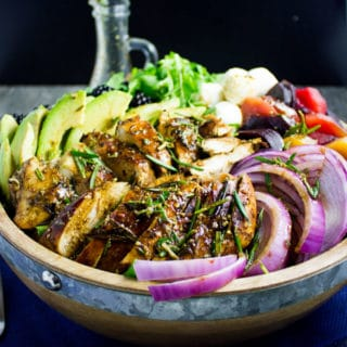 Italian Balsamic Chicken Salad Recipe