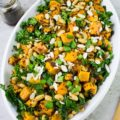 One Pot Quinoa Sweet Potato Salad. This ONE POT wonder is more than just a salad--it's a perfect vegetarian and vegan meal on its' own! It's hearty, filling and tastes like pure comfort. Get the step by step recipe for this inarguably one of the GREATEST recipes ever! www.twopurplefigs.com