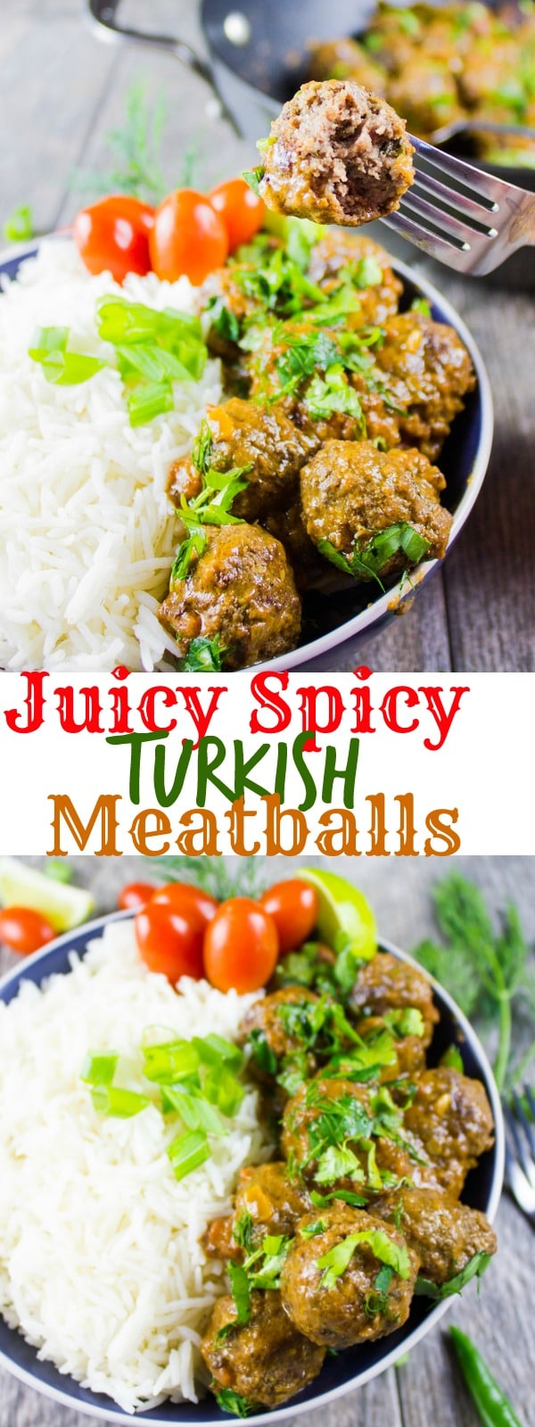 Long Pin for Juicy Spicy Turkish Meatballs