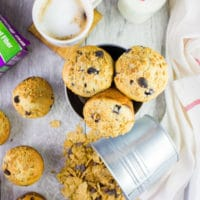 Ultimate Blueberry Raisin Bran Muffins - Pin