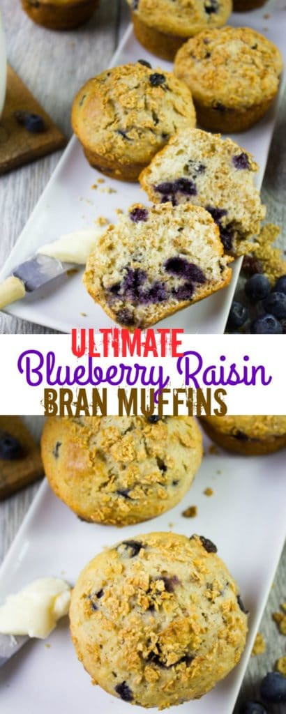 Long Pin for Ultimate Blueberry Raisin Bran Muffins
