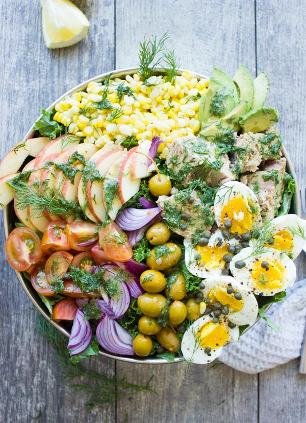 Ultimate Tuna Salad Recipe With Olive Dressing