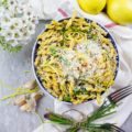Easy and Fresh Garlic Lemon Pasta. This is the only pasta recipe you'll need all season long! Simple, easy and refreshing! This basic luscious version is great as is, but you can jazz it up endlessly! Sep by step and tips on making the BEST lemon pasta at www.twopurplefigs.com