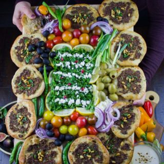 Game Day Mini Turkish Pizza Party