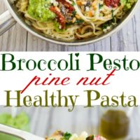 Broccoli Pesto Pasta - Pin