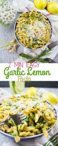Garlic Lemon Pasta - Pin