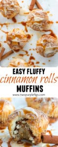 Cinnamon Rolls Muffins - Pin