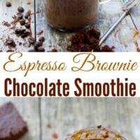 Espresso Brownie Chocolate Smoothie