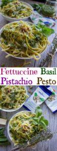 Fettuccine with Pistachio Pesto