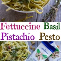 Fettuccine with Pistachio Pesto