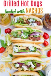 Grilled Hot Dogs -Pin