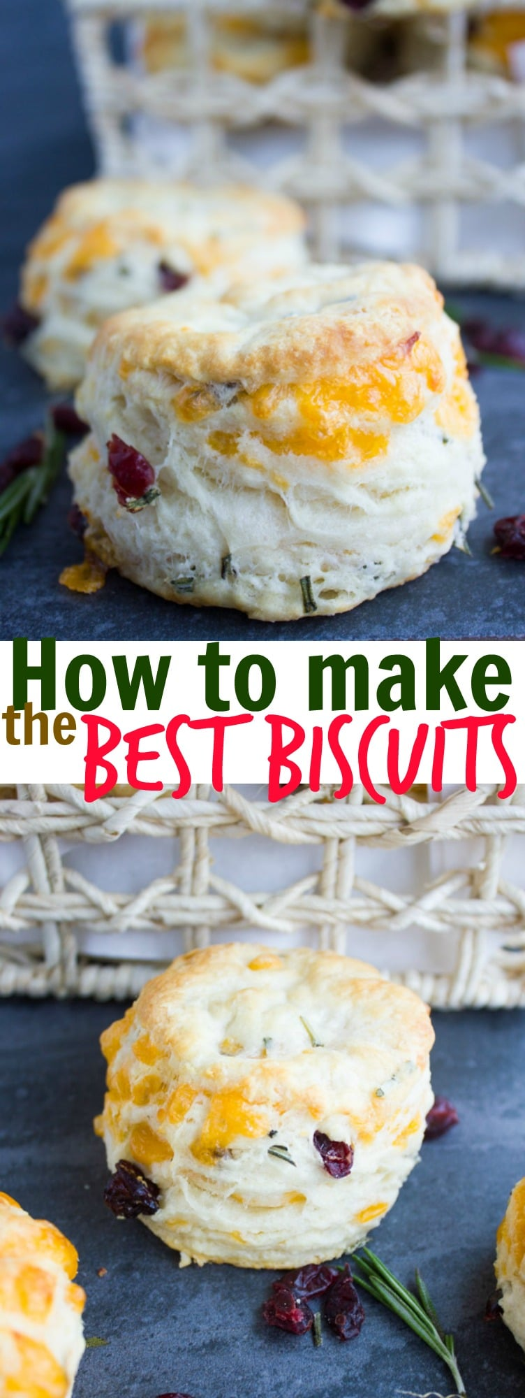How to make biscuits at home - pin