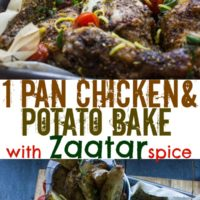 One-Pan Chicken Potato Bake