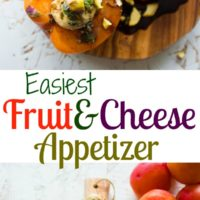Easy Fruit & Cheese Appetizer