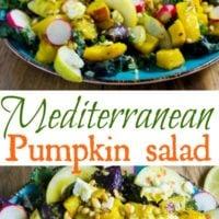 Mediterranean Roasted Pumpkin Salad