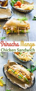 Sriracha Mango Chicken Sandwich