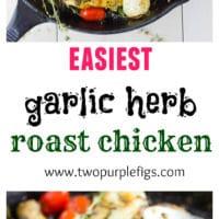 Garlic Herb Roast Chicken