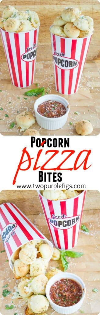 Popcorn Pizza Bites