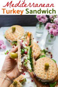 Long Pin for Mediterranean Turkey Sandwich