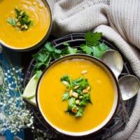 Long Pin for Butternut Squash Soup Recipe