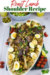 Long Pin for Roast Lamb Shoulder Recipe