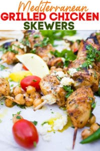 Long Pin for Grilled Chicken Breast Skewers